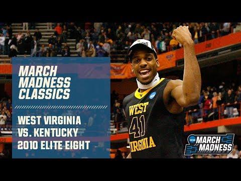 West Virginia vs. Kentucky: 2010 Elite Eight   FULL GAME