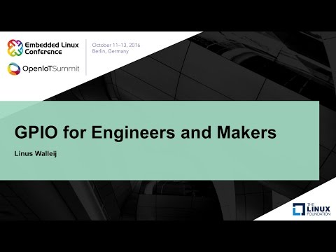 GPIO for Engineers and Makers