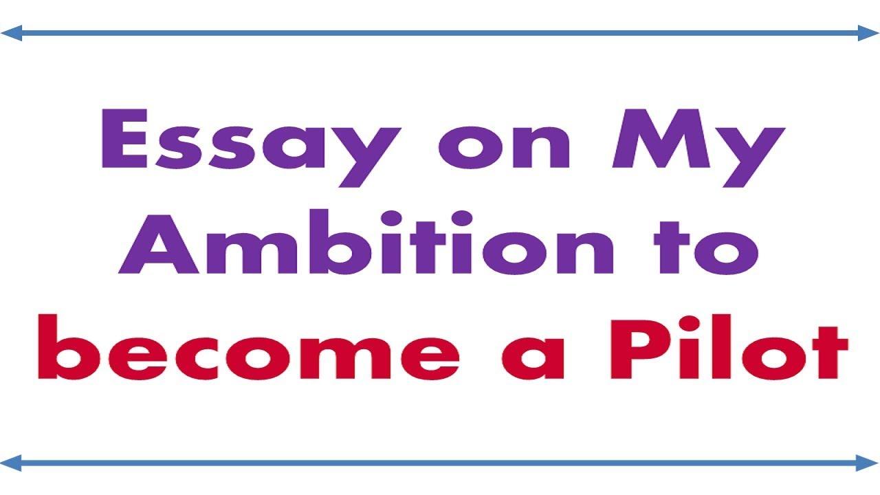 Essays on ambition
