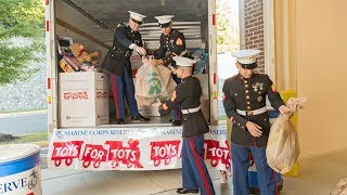 Toys For Tots Christmas Morning Psa