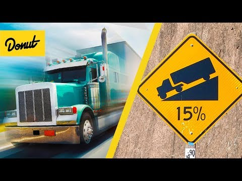 ENGINE BRAKING | How Semi Trucks Slow Down Without Brakes |