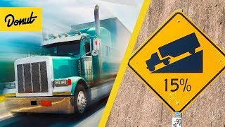 ENGINE BRAKING | How Semi Trucks Slow Down Without Brakes | SCIENCE GARAGE