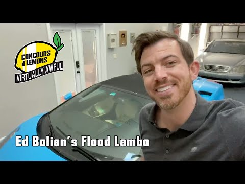 Ed Bolian - Flood title Lambo Virtually Awful Concours d'Lemons entry