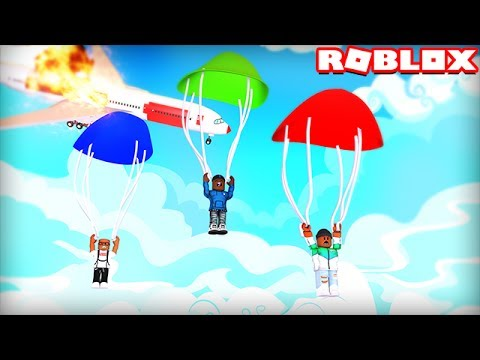 SURVIVE A FIERY PLANE CRASH IN ROBLOX
