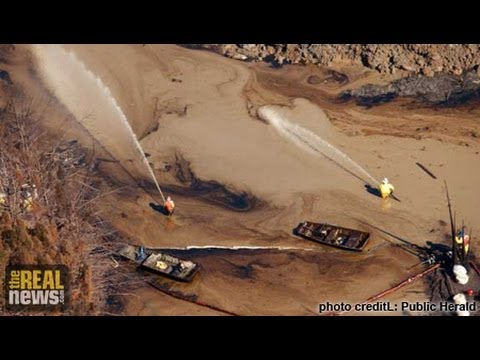 Significant Increase in Oil Transport by Rail Raises Chances of Spills pt2