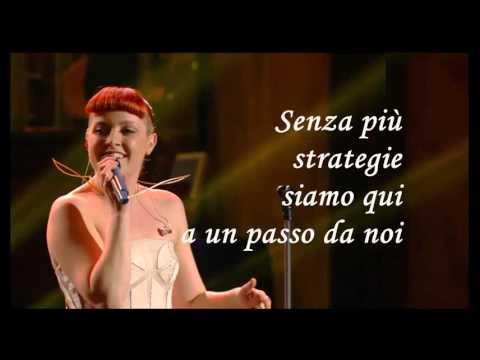 Bagnati dal sole Noemi Karaoke (Base al piano con testo) Sanremo ...