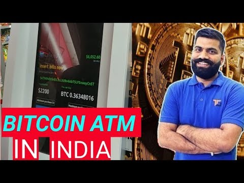 Bitcoin ATM In India