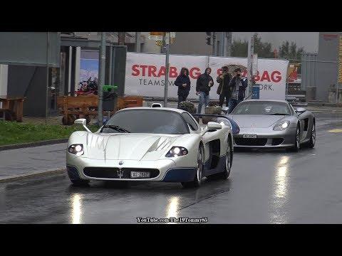 Amazing Supercars in Andermatt (Switzerland) 2017