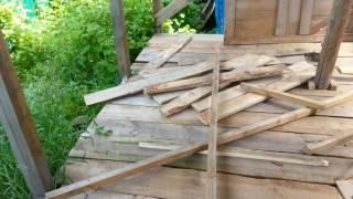 видео Как построить сарай своими руками – строим подсобные помещения + Видео