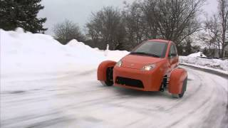 Watch the Elio make easy work of the snow!