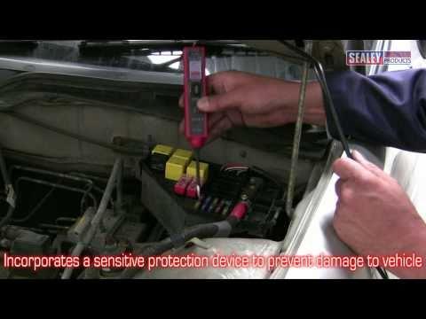 Sealey PP1 & PPX Automotive Test Device