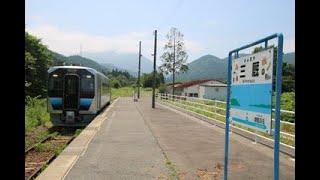 [車窓]JR津軽線・GV E400系【三厩→蟹田】1/1
