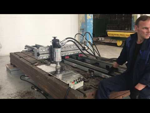 LMD5000 gantry portal milling machine  hydraulic
