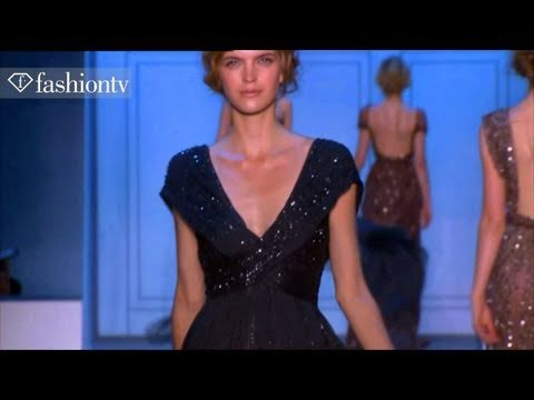 Elie Saab Show ft Anja Rubik - Paris Couture Fashion Week Fall 2011 | FashionTV - FTV