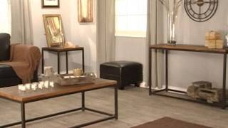 Belham Living Townsend Rustic Wood And Iron Occasional Table Collection - Product Review Video