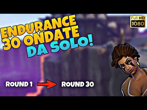30 Ondate Da Solo! Endurance Montespago (Full Run HD1080p)   Fortnite - Salva Il Mondo