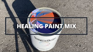Super Relaxing & Healing Paint Mix | Mystery Color