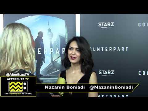Nazanin Boniadi at the 'Counterpart' Premiere 2018