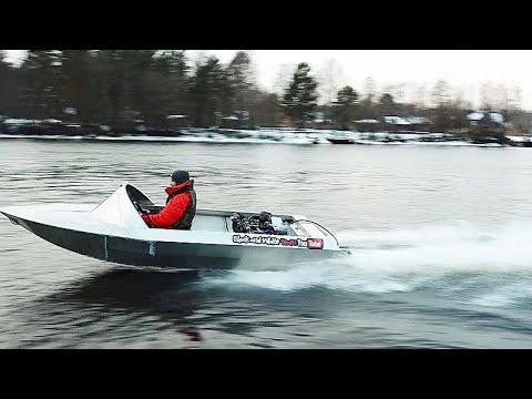 Мы построили лодку