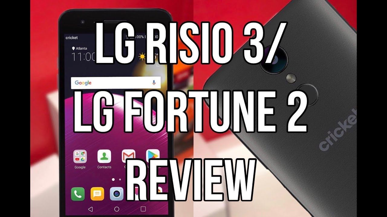 LG Risio 3/LG Fortune 2 Review