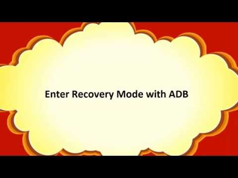 How To Enter Recovery Mode With ADB