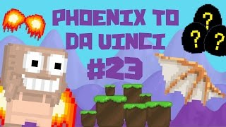 Growtopia - Phoenix To Da Vinci #23 | EGGS FROM BASKET!!