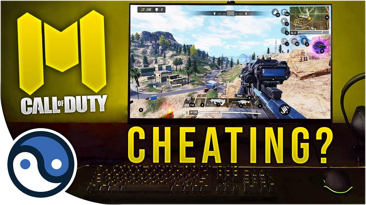 Is This Cheating Call Of Duty Mobile On Pc Youtube