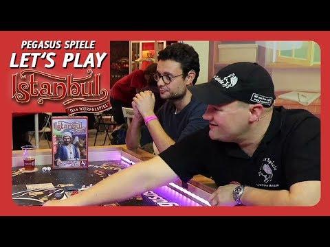 [EN] LET'S PLAY Istanbul-The Dice Game   Pegasus Spiele
