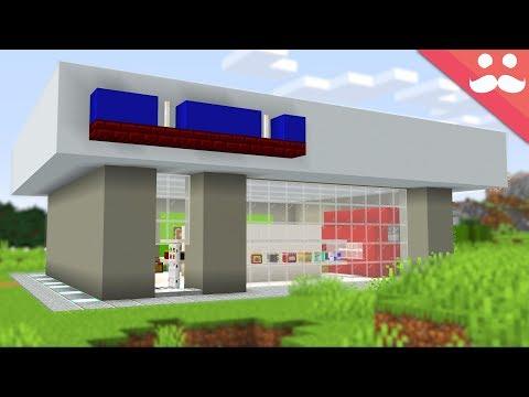 Making a Minecraft Supermarket