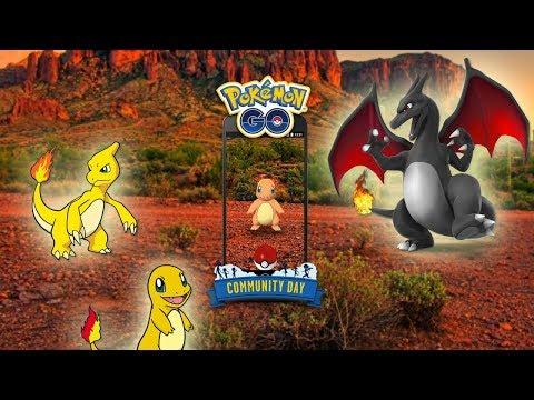 ¡NUEVO EVENTO OFICIAL! POLVO ESTELAR x3 y más! CHARMANDER SHINY! Pokémon GO COMMUNITY DAY [Keibron]