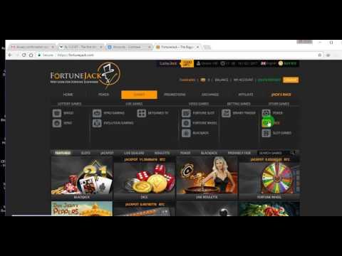 Fortunejack de cazino bitcoin