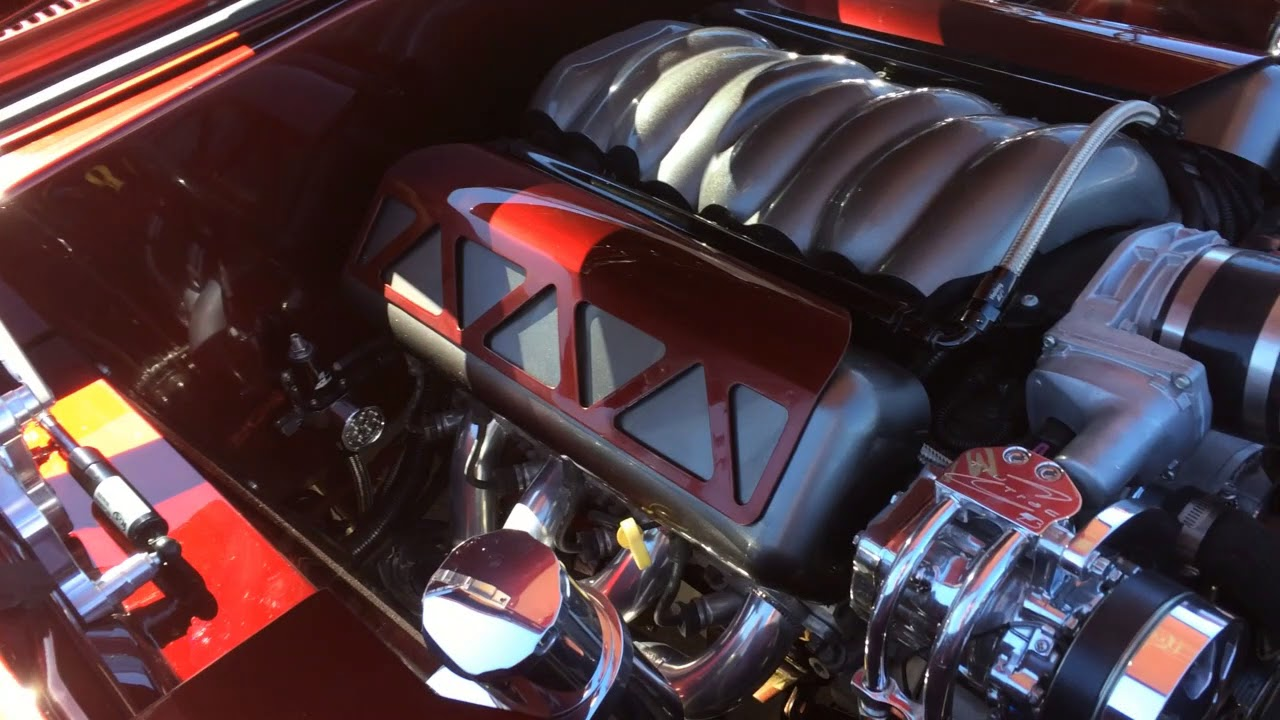 1969 Camaro protouring muscle car - Jonathan D