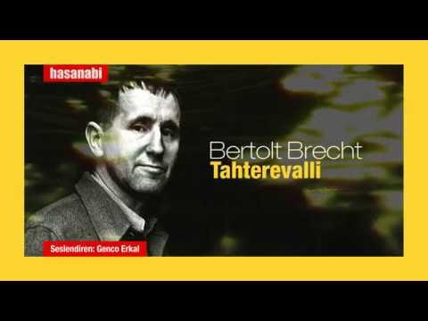 Bertolt Brecht - Tahterevalli