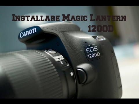 magic lantern 1200d
