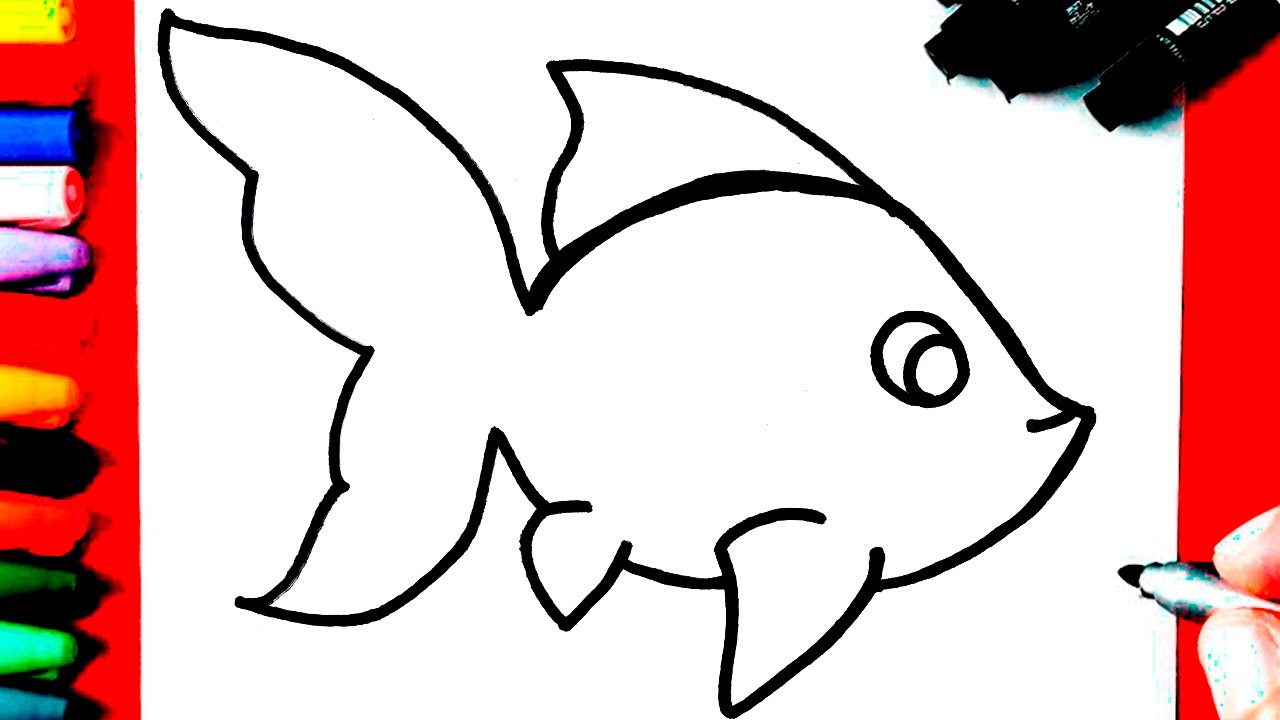 Como Desenhar Um Peixe Youtube