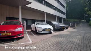 Proef Jedlix bij ElaadNL: Elektrische auto's geschikt voor balanceren elektriciteitsnet