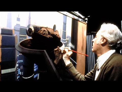 Industrial Light & Magic - Traditional Matte Paintings (rare footage)