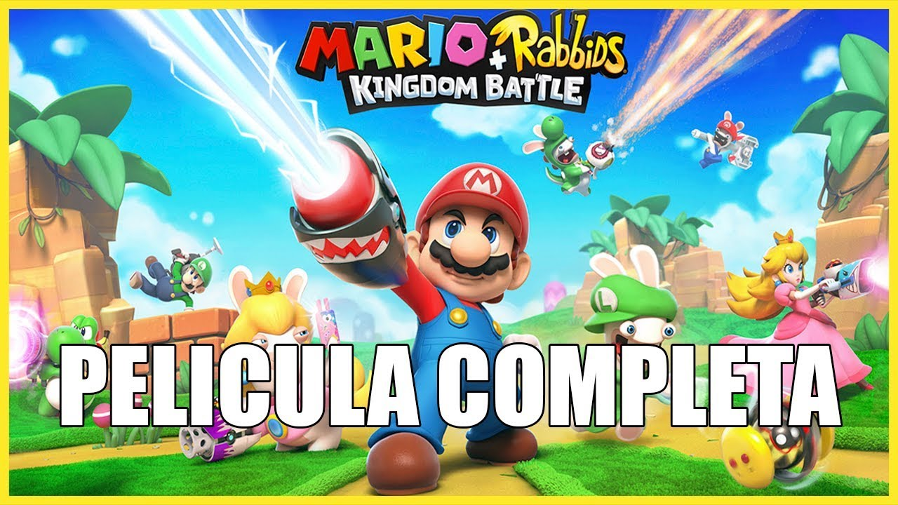 Ver Mario + Rabbids Kingdom Battle – Película Completa en Español (Full Movie All Cutscenes) en Español