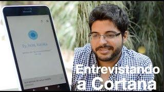Primera entrevista oficial a Cortana en español