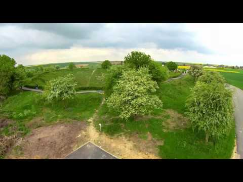 The Lochnagar Crater, La Boisselle by Drone