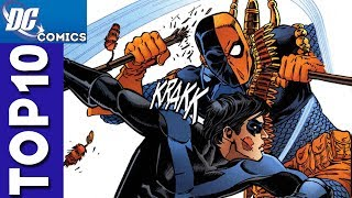 Top 10 Robin and Deathstroke Moments From Teen Titans