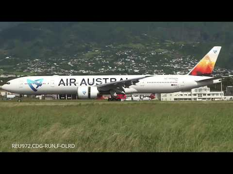 Plane spotting @ Roland Garros Airport (RUN) 02/07/17
