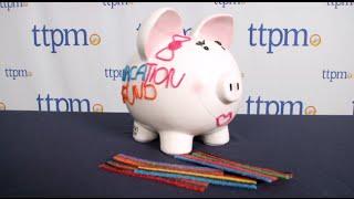 Wikki Stix One of a Kind Designer Piggy Bank from Omnicor