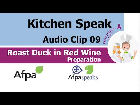 Clip 09 Preparation Roast Duck in Red Wine