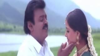 Mookuthi Muthazhaghu   Kannupada Pokuthaiya   tamil Video Song   Vijaykanth   Simran   S A Rajkumar