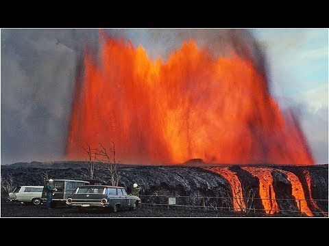 WOW! Huge Hawaii Kilauea Volcano Lava Eruption Just Produced Matrix Glitch In Reality! Strange