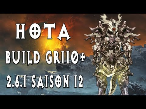 HOTA GR110+ ~ Build Barbare ~ Diablo 3 [2.6.1 Saison 12]