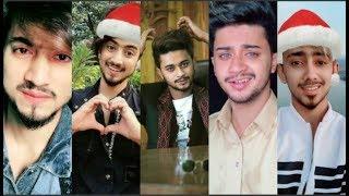 Mr Faisu, Hasnain, Adnaan, Faiz Baloch & Team07 Christmas Day Special Tik Tok Videos.
