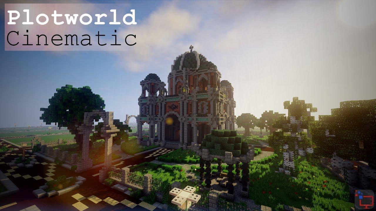 Plotworld Spawn Minecraft Cinematic Free Download YouTube - Minecraft fertige hauser einfugen