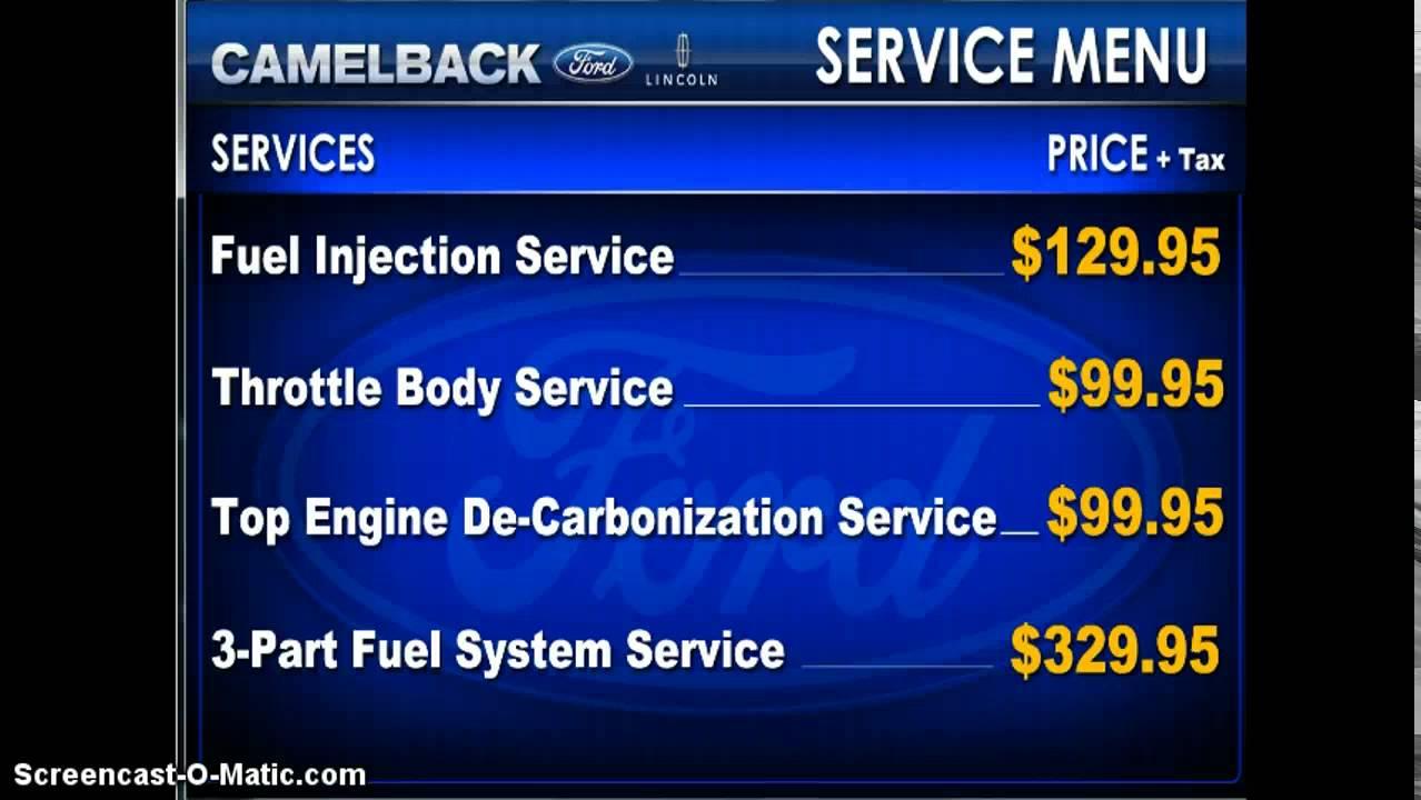 Ford Service Menu Autovision Tv Youtube